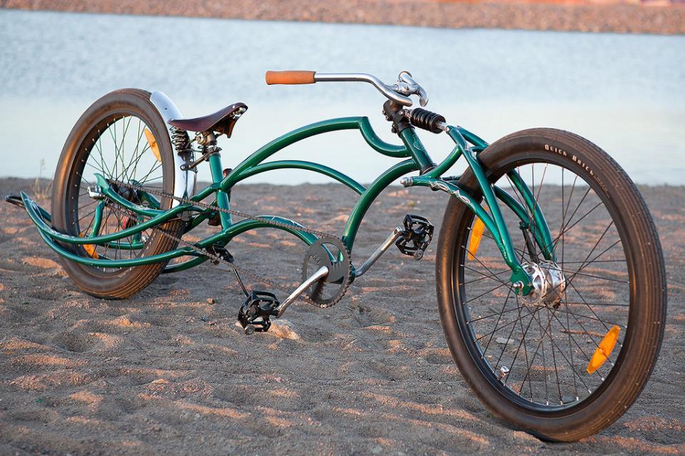 Авторский нестандартный велосипед