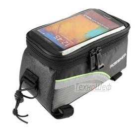 Велосумка на раму для смартфонов (большая)