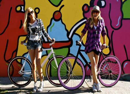 Велосипеды fixed gear: купить велосипед для города