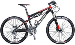 двухподвесный горный велосипед Merida Ninety-Six