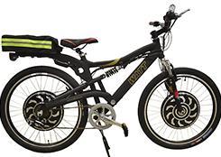 установка мотор колеса на велосипед украина