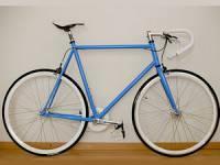 велосипед после покраски