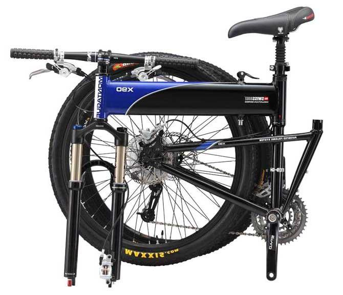 Складной горный велосипед Montague Swissbike X90
