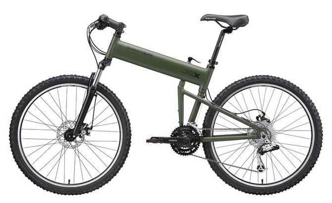 Десантный складной велосипед Montague Paratrooper