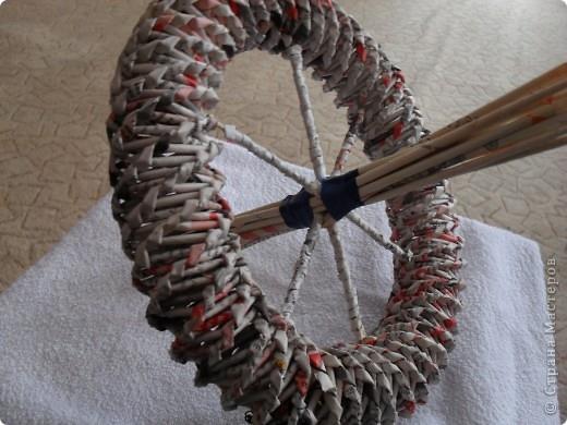 Велосипед из газетных трубочек мастер класс с пошаговым фото - Visit-petersburg.com