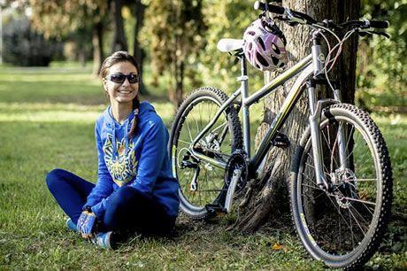 Женский горный велосипед