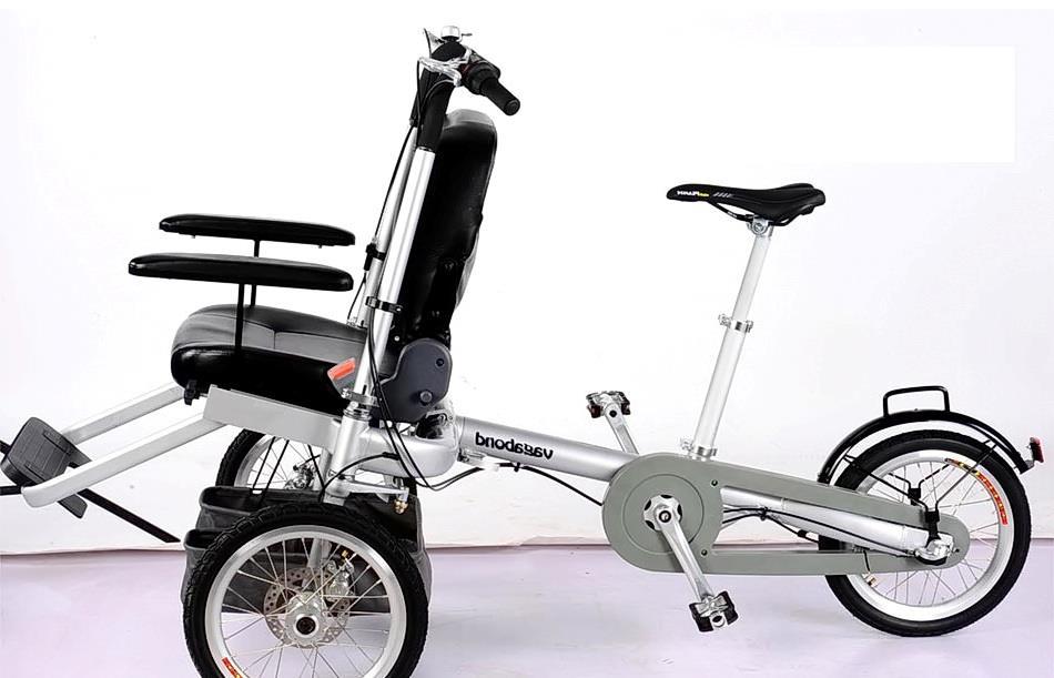 инвалидная велоколяска трансформер