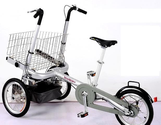 велоколяска трансформер
