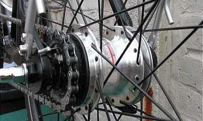 7-скоростная планетарная втулка Shimano Nexus Inter-7