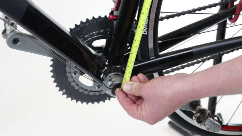 Измерение рамы велосипеда