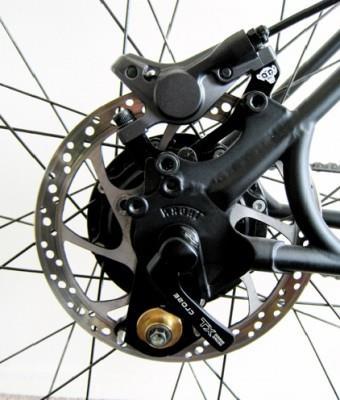 как установить дисковые тормоза на велосипед фото