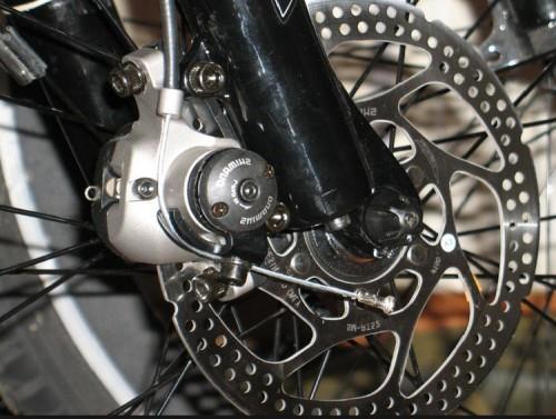 как установить дисковые тормоза на велосипед фото 2