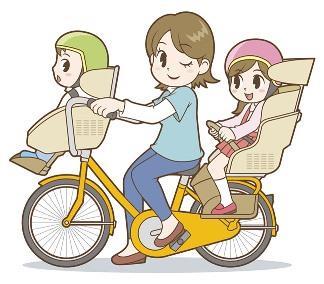 Велосипеды в Японии для мамочек