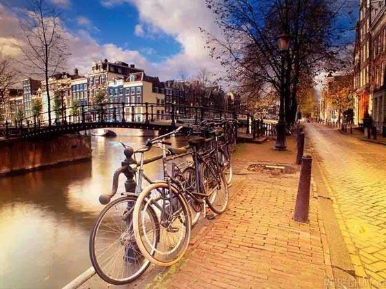 Велосипеды популярны в Европе и Америке