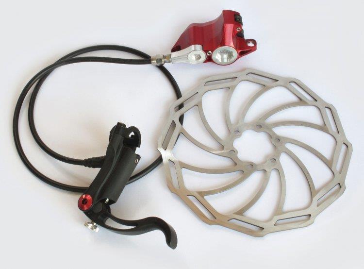 гидравлический тормоз велосипеда