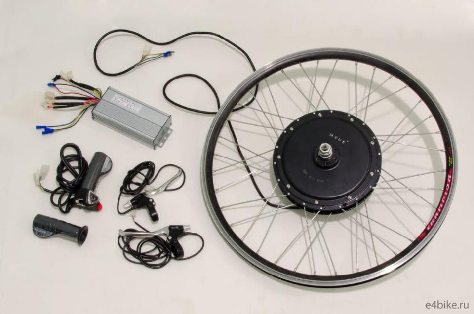 Комплектующие колесо-мотор