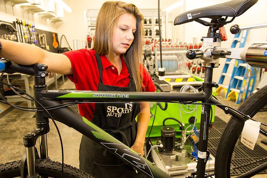 SportsAuthority_BikeRepair