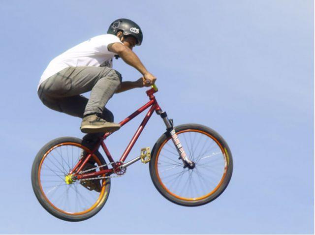 Велосипед для дёрт-джампинга