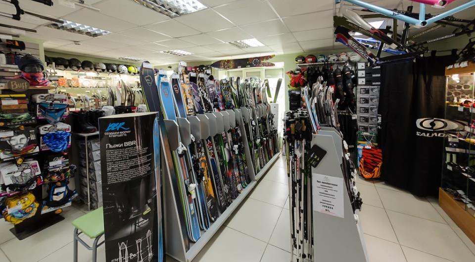 Продажа сноубордов и лыж в Пятигорске