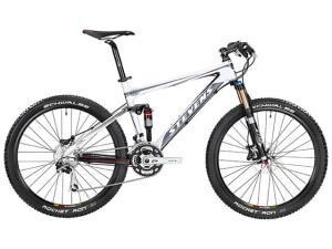 Горный велосипед с карбоновой рамой