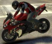 GTA 4 мотоцикл