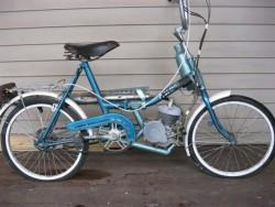 Самодельный электрический велосипед может выглядеть очень достойно