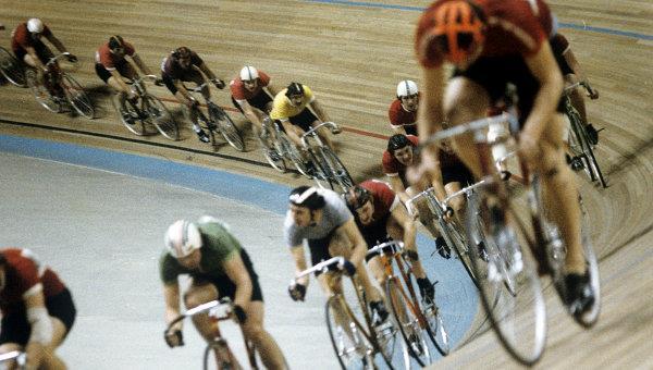 История велоспорта - трек
